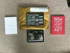 Pictures on Walls (POW) - 3 Small Books and Postcard Pack including Banksy