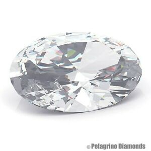 2 CT J-I1 Excellent Pol. Oval Shape AGI Natural Diamond 8.78x6.70x4.68mm
