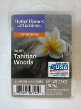 Better Homes & Gardens Scented Wax Cubes 2.5 fl oz  White Tahitian Woods.