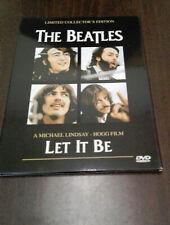 THE BEATLES-DVD-LET IT BE-DIGIPACK-SU PELICULA PROHIBIDA Y NO EDITADA-VERY RARE