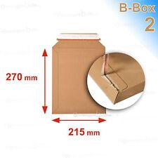 10 Enveloppes/pochettes carton rigide 215x270 B-box 2