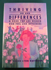 THRIVING ON OUR DIFFERENCES by Karen Lynn Davidson  LDS (HC/DJ, 1990)
