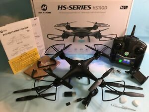 Holy Stone HS110D Quadcopter Drone FPV 120° Wide-Angle HD Camera Altitude Hold