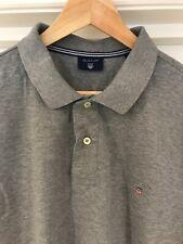 Gant Para Hombre Camisa Polo Tamaño XL Gris