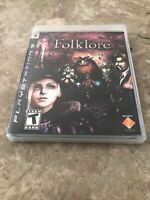 Folklore (Sony PlayStation 3 PS3, 2007) - Fast Free Shipping