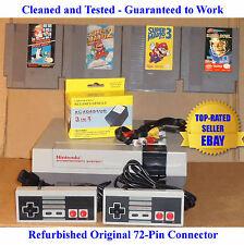 NES Console Bundle + Mario Bros 1 2 3 & Tecmo Super Bowl - Best Pins -Guaranteed