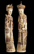 Emperor and Empress of China, Chinese Sculptures Reproduction Replica