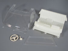 Tamiya 1/10 RC Toyota Hilux Bruiser Seat Steering Wheel Clear Window Windshield