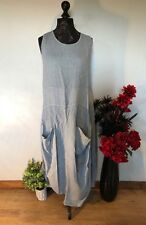 FINAL REDUCTION  BOHO LINEN DRESS .  PLUS SIZES.  18,20.24, 26