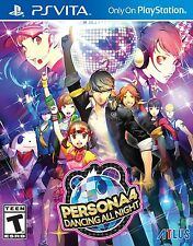 PLAYSTATION VITA GAME PERSONA 4 DANCING ALL NIGHT BRAND NEW AND SEALED