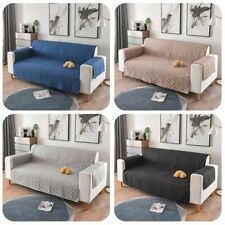Quilted Sofa Slipcover Anti Slip Pet Furniture Sofa Protector Throw For Dog