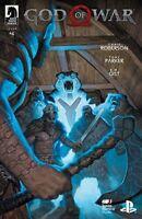 God of War #4 Dark Horse Comic 1st Print 2019 NM Playstation Santa Monica Studio
