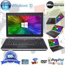"""DELL LAPTOP LATITUDE E6420 Core i5 8GB 320GB Win 10 DVDRW WEBCAM HDMI 14"""" HD"""