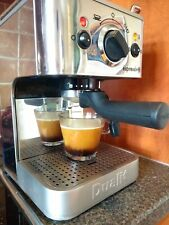 Dualit Espressivo Coffee Machine Barista Style With Steam Milk Frother
