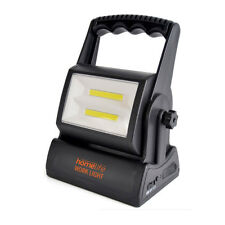 HOMELIFE SUPERBRIGHT 6W COB LED RECHARGEABLE WORK LIGHT - HIGH-LOW-HAZARD MODES