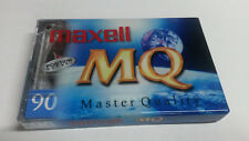 MAXELL MQ Master Quality Cassette Tape SEALED IEC TYPE 1, NORMAL, EQ 120us