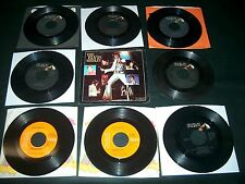 60/80's Records 45 RPM ELVIS PRESLEY Lot Of 8 diff records - 1 PS