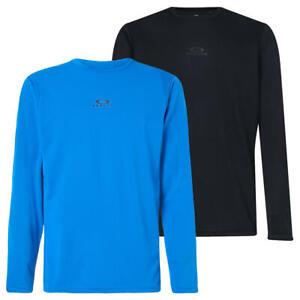 Oakley Mens 2021 Foundational Training Wicking LS Tee T-Shirt