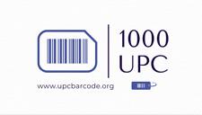 1000 UPC Numbers Barcodes Bar Code Gs1  Amazon Lifetime Guarantee
