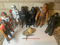 """Mixed Lot of 8 STAR WARS 12"""" Inches Action Figures Hasbro"""