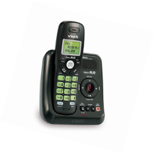 Home Phone Cordless With Answering Machine Caller ID Call Waiting Wall-Mountable