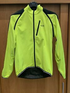 GORE C3 Windstopper Phantom Zip-Off Jacket. 100190 L Yellow/Black Worn 4 times