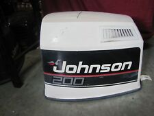 USED JOHNSON VRO V6 MOTOR COVER/HOOD/SHROUD/COWLING 1989-1990 200HP