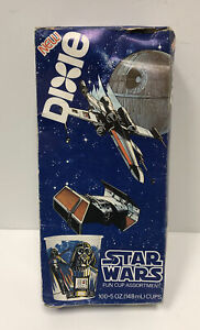 Star Wars Dixie Cups 1980 Unopened Damage Box