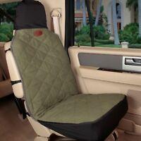 "Solvit Premium Bucket Seat Cover Green Quilted Cotton Sta-Put  52"" x 22"""