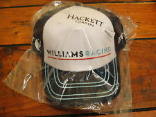 Williams Martini Racing HACKETT LONDON 2016 REPLICA TEAM CAP Adulti Taglia Unica Nuovo