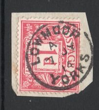 EDVII sg Sg D2 - 1d carmine postage due with Low moor Yorks cds pmk 1914