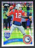 Tom Brady 2011 Topps Chrome Xfractor Card # 20 New England Patriots