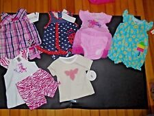 Infant Girls Baby Clothes Lot Summer Size 6-9 Months 7 Outfits Cute (Group 2)