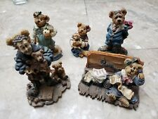 Lot of 5 stunning Boyds bears figurines ranging from 1997 - 2004