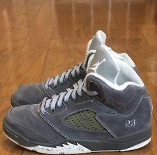 """VNDS Condition 2011 Air Jordan 5 Retro """"Wolf Grey"""" sz 3y Pre School PS"""