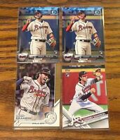 2017 Dansby Swanson RC lot of 4 - Braves