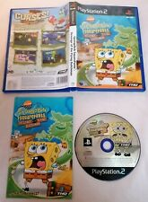 PLAYSTATION 2 - PS2 Spongebob Squarepants Revenge....Dutchman PAL Complete Boxed