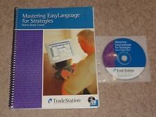 TradeStation - Mastering EasyLanguage for Strategies CD & Book options trading