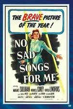 NO SAD SONGS FOR ME NEW DVD