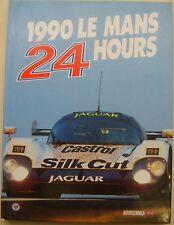 Le Mans 24 horas 1990 Anual En Ingles Libro de alta calidad con contenedor de polvo