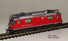 Kato 3102 -e-lok Ferrocarriles réticos -alpine Locomotora Ge4/4 II 631 NUEVO