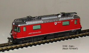 Noch 7074047 (KATO 3102) -E-Lok  Rhätische Bahn -Alpine Lokomotive Ge4/4 II 631