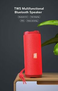 Speaker Wireless Bluetooth 5.0  Portable Waterproof Bass Stereo Outdoor TF  USB
