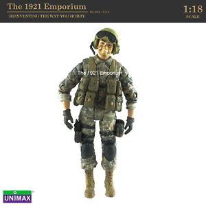 1:18 Unimax Toys FOV Bravo Team Modern US Army Bradley Tank Commander Figure