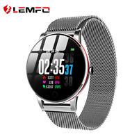 LEMFO IP68 Wasserdicht Smartwatch Fitness Armband Herzfrequenz Blutdruck Tracker