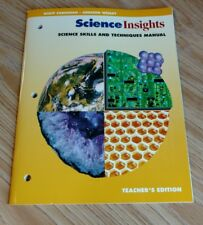 """Science Skills and Techniques Manual (Science Insights) Teachers Edition """"NEW"""""""