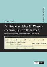 Buch »Der Rechenschieber für Wasserchemiker, System Dr. Janssen« Dampfkessel