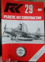 Nov 1991 Plastic Kit Constructor #29 Aircraft Modellers Magazine Airplane 1/72
