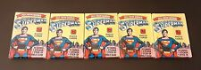 LOT of 5 1978 TOPPS SUPERMAN THE MOVIE PHOTO CARD PACKS