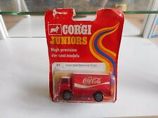Corgi Juniors Leyland Terrier Coca Cola in Red on Blister